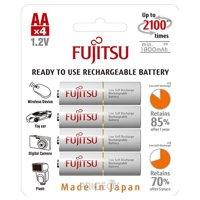 Фото Fujitsu AA 1900mAh NiMh 4шт HR-3UTCEX (4B)