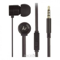 Фото KitSound Hive In-Ear Headphones Black (KSHIVBBK)