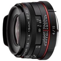Фото Pentax DA 15mm f/4 ED AL Limited HD