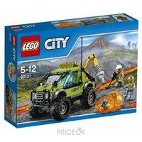 Фото LEGO City 60121 Грузовик исследователей вулканов
