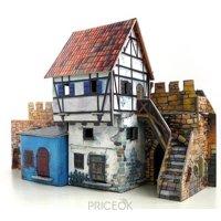 Фото Умная бумага Средневековый город Дом у стены (250)