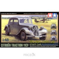 Фото TAMIYA Штабная машина Citroen Traction 11CV (TAM32517)