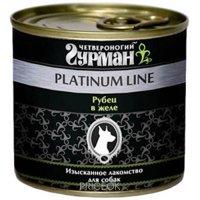 Фото Четвероногий Гурман Platinum line Рубец говяжий 0,24 кг