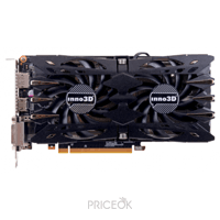 Фото Inno3D GeForce GTX 1060 HerculeZ Twin X2 6Gb (N106F-2SDN-N5GS)