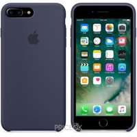 Фото Apple iPhone 7 Plus Silicone Case - Midnight Blue (MMQU2)