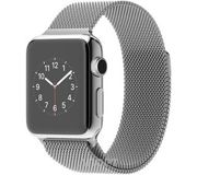 Фото Apple Watch 38mm Stainless Steel Case with Milanese Loop (MJ322)