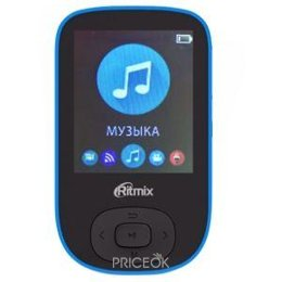 MP3 плеер (Flash,  HDD)  Ritmix RF-5100BT 8Gb