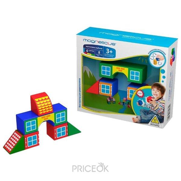 Магнитный конструктор кубиками