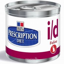 корм для кошек  Hill's Prescription Diet Feline i/d 0,156 кг