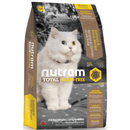 корм для кошек  Nutram T24 Total Grain-Free Salmon & Trout 6,8 кг