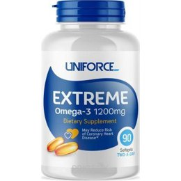 Спортивный витамин и минерал Uniforce Extreme Omega-3 1200 mg 90 caps