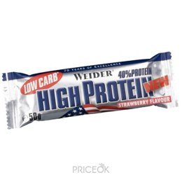 Фото Weider Low Carb High Protein Bar 50 g