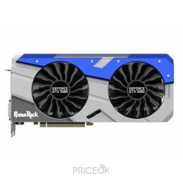 Видеокарту Palit GeForce GTX 1080 GameRock Premium Edition 8Gb (NEB1080H15P2-1040G)